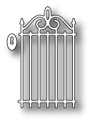 98225 ~ WROUGHT IRON GATE ~ Memory Box die