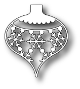 98231 ~ SNOWFLAKE ORNAMENT ~ Memory Box die