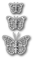 99098  ~ LEAVENWORTH BUTTERFLY TRIO ~ Memory Box die
