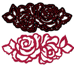 CTDI 7006 ~ ROSE DIE ~ Crafts Too  Cutting and Embossing Die