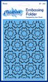 "EF-004 ~ FLORAL ~ 5""X7"" Creative Expressions embossing folder"