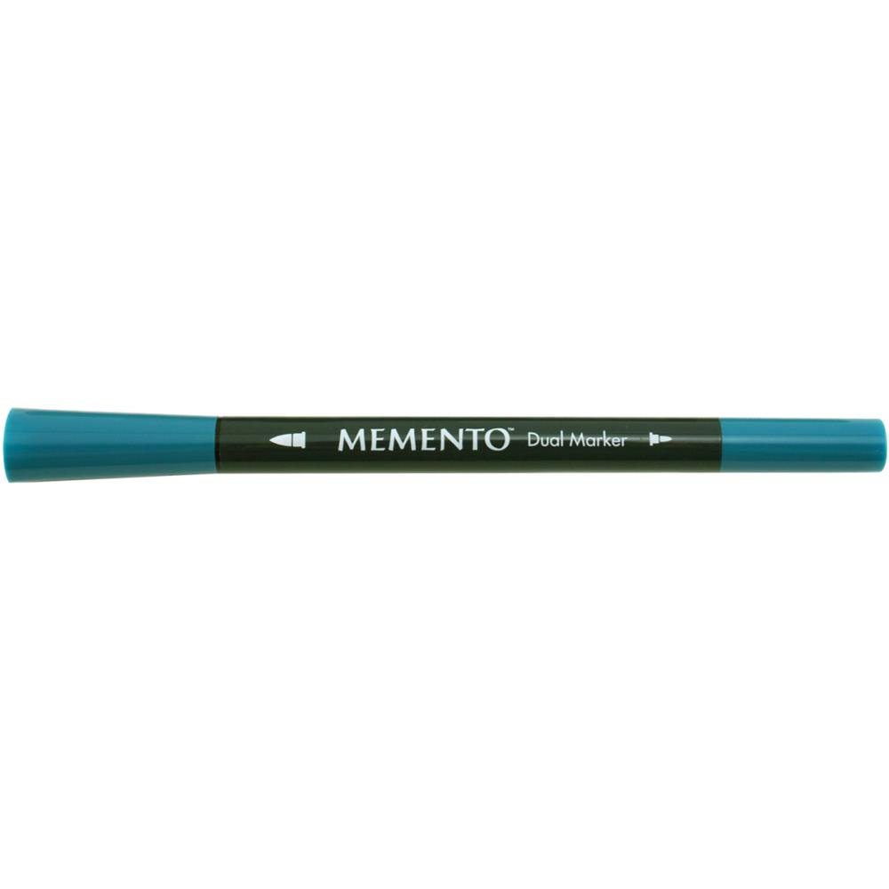 Memento marker dual tip fade resist pen teal zeal for Teal fishing pole