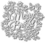 TUTTI-128 ~ MERRY AND BRIGHT ~ TUTTI DESIGNS DIES