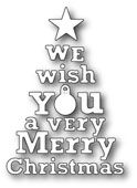 1620 ~ WE WISH YOU A MERRY CHRISTMAS ~ Poppystamps die