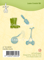 55.0430 ~ GARDEN TOOLS  ~ Leane Creatief Clear Stamp