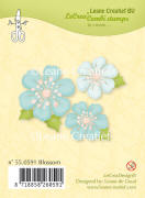 55.0591 ~ BLOSSOM  ~ Leane Creatief Clear Stamp