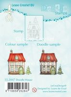 55.2786 ~ HOUSES  ~ Leane Creatief Clear Stamp