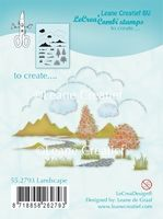 55.2793 ~ LANDSCAPE  ~ Leane Creatief Clear Stamp