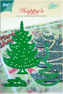 6002/2008 ~ CHRISTMAS TREE & MERRY CHRSTMAS ~ JOY CRAFTS Cut+Emboss+Embroidery dies
