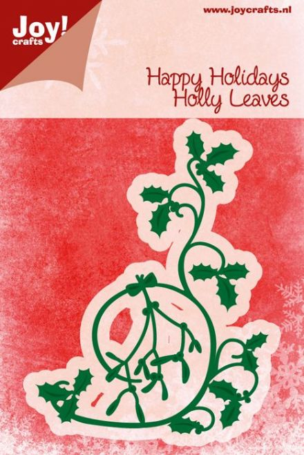 Joy Crafts Happy Holidays Merry Christmas cut and emboss die 6002//2027