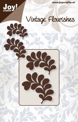 6003/0035 ~ LEAVES ~ VINTAGE FLOURISH  ~  JOY CRAFTS Cut & emboss dies