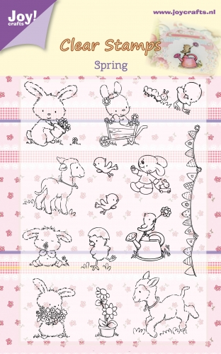 6410/0357 ~ SPRING ~ JOYCRAFTS CLEAR STAMP
