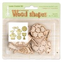 71.2472 ~ SPORTS - WOOD SHAPES  ~  by Leane Creatief