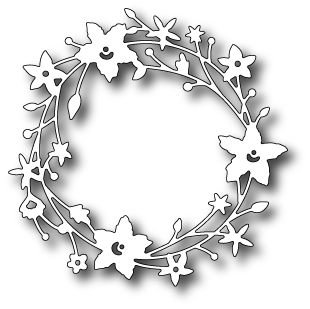 98189 ~ CATALINA WREATH ~ Memory Box die