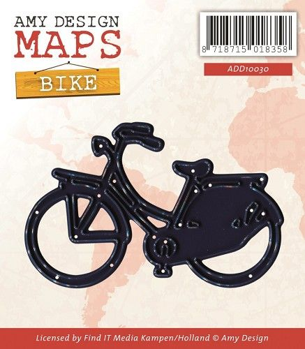 ADD10030 ~ Maps ~ Bike