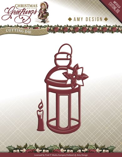 ADD10070 ~ Christmas Greeting ~ Lantern die ~ Amy Designs