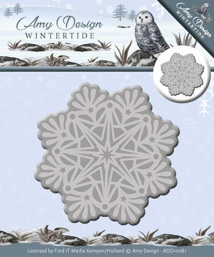 ADD10081 ~ Ice Crystal die ~ Wintertide ~ Amy Design