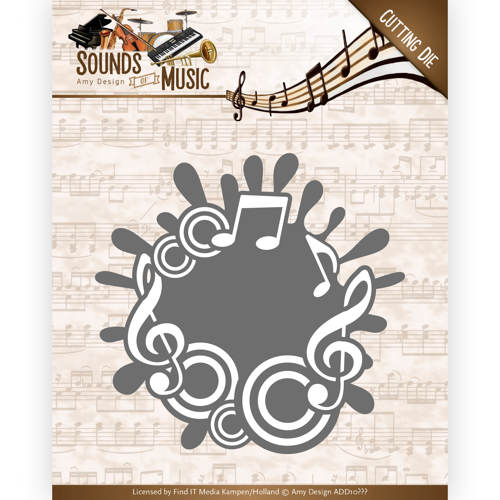 ADD10135 ~  Music Lable ~ Sound of Music  ~ Amy Design