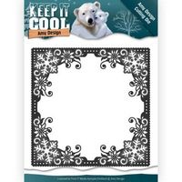 ADD10158 ~ Cool Square Frame die ~  Keep It Cool  ~ Amy Design