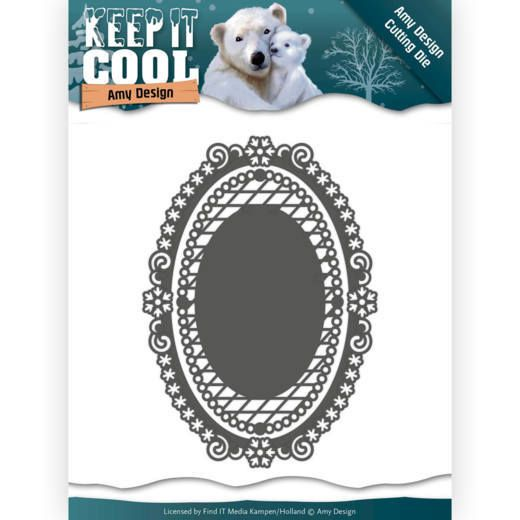 ADD10161 ~ Keep It Oval die ~  Keep It Cool  ~ Amy Design