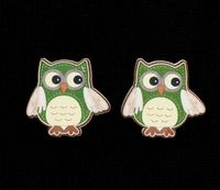 C2296 ~ OWLS ~ TRIMITS ~ pack of 6