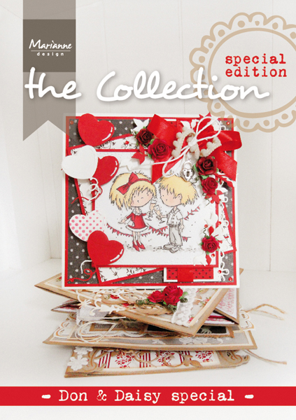 CATDDS1 ~ MARIANNE DESIGN ~ THE COLLECTION - DON & DAISY SPECIAL