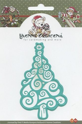 CCD10001 ~ Christmas Tree ~ Yvonne Creations