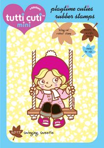 CHK015 ~ SWINGING SWEETIE ~ TUTTICUTI STAMP