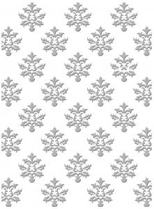 CO723022 ~ CULTIVATED ~ Couture Creations Gift Wrapping embossing folder