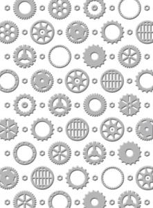CO723034 ~ REPLACEMENTS ~ Couture Creations World Fair embossing folder
