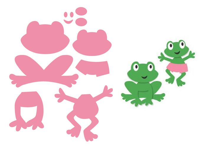 Col1352 Frog Marianne Design Collectables