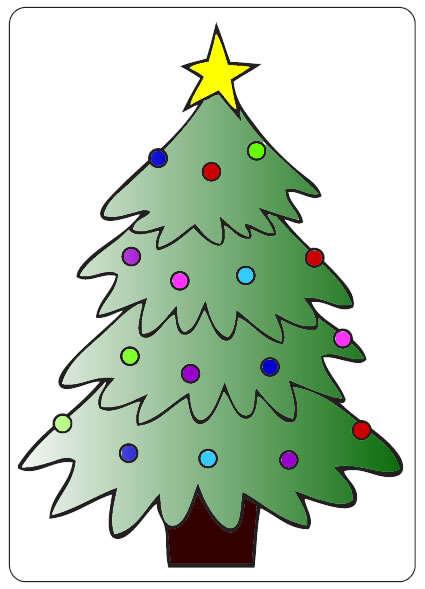 CTFD 3001 ~ CHRISTMAS TREE ~ embossing folder CRAFTS TOO