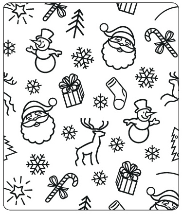 CTFD 4007 ~ CHRISTMAS BACKGROUND ~ embossing folder from Crafts Too