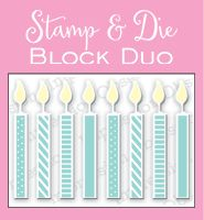 DIE and STAMP BLOCK SETS