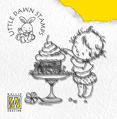 DL003 Litte Dawn - Sneaky taste - Nellie Snellen clear stamp