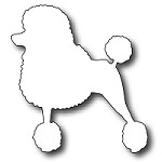 FRA-DIE-09093 ~ TOUTOU THE FRENCH POODLE ~ die from FRANTIC STAMPER