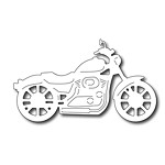 FRA-DIE-09162 ~ MOTORCYCLE ~  from FRANTIC STAMPER
