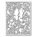 FRA-DIE-09199 ~ RAINFOREST BIRDS PANEL die ~ from FRANTIC STAMPER