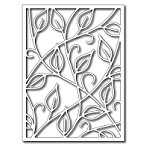 FRA-DIE-09200 ~ VINE CARD PANEL die ~ from FRANTIC STAMPER
