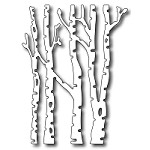 FRA-DIE-09226 ~ SMALL BIRCH TREES ~ die from FRANTIC STAMPER