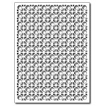 FRA-DIE-09268 ~ GREAT GRATE CARD PANEL ~ die from FRANTIC STAMPER