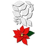 FRA-DIE-09283~ POINSETTIA ~  Die from Frantic Stamper