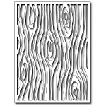 FRA-DIE-09288 ~ WOODGRAIN CARD PANEL ~ die from FRANTIC STAMPER