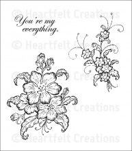 HCPC 3609 ~ ARIANNA BLOOMS BOUQUET PreCut Set ~ Arianna Blooms Collection ~  Heartfelt Creations