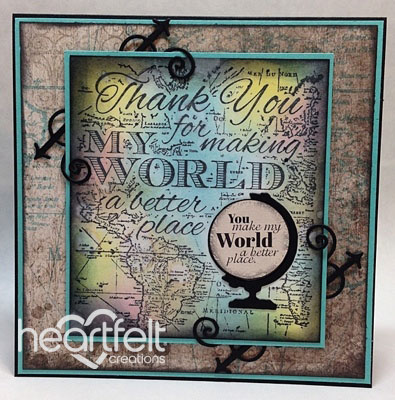 Heartfelt Creations Everyday Hero Collection Cling Stamp