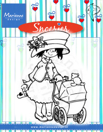 HM9443  SNOESJES with BABY ~  Marianne Designs Clear stamp