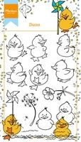 HT1615 ~ Hetty's Ducks ~  Marianne Designs Clear stamp