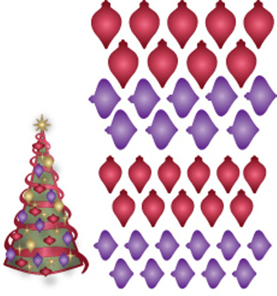 IME-085 ~ MINI DECORATIONS ~ Dee's Distinctively Dies