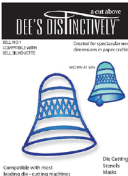 IME016 ~ BELL OVERLAY 1 ~ Dee's Distinctively Dies
