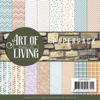 JAPP1007 ~ Art of Living ~ Paper Pack ~ Jeanine's Art